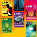 FEED magazine covers